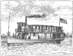 F S Lewis Steamboat